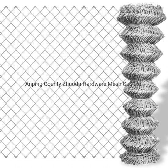 China Factory Price Galvanized Steel Diamond Mesh Fencing for Sale Amazon