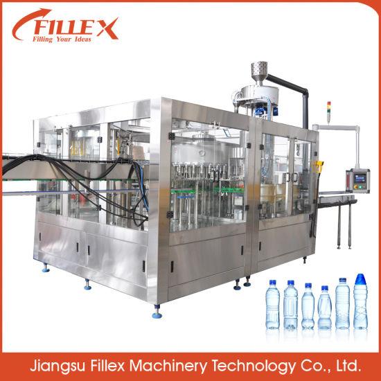 Complete Solution Bottle Drinking Mineral Water Plant/Bottle Filling Machine