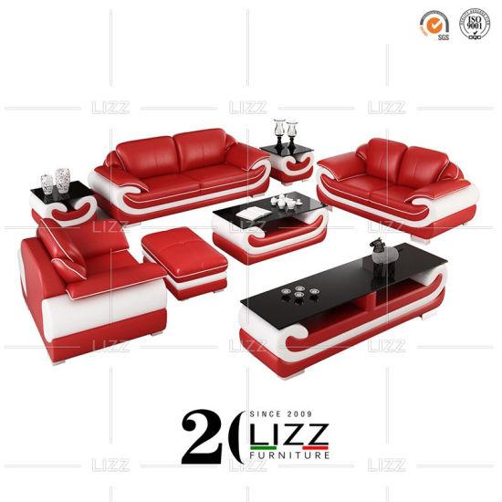 Modern Sectional Furniture Miami Soft Leather Sofa