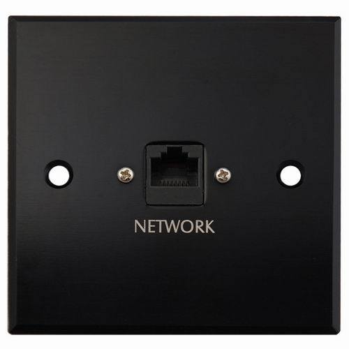 Aluminum Network Wall Socket, Face Plate (9.2082)