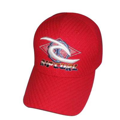 6 Panel Baseball Cap with Embroidery (076P030)