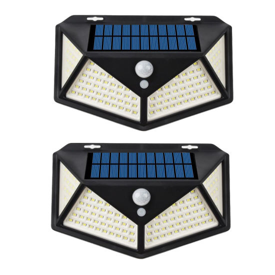 114 LED Solar Induction Wall Lamp