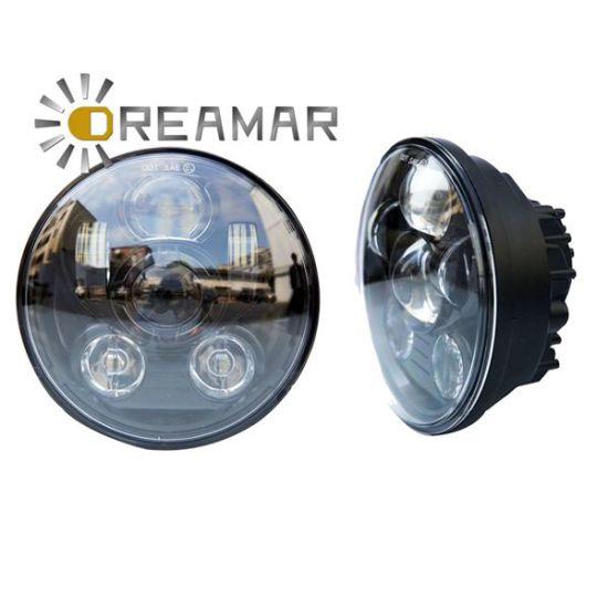 "40W 5.75"" Orsam Headlight with DOT, E-MARK for Harley Davidson pictures & photos"