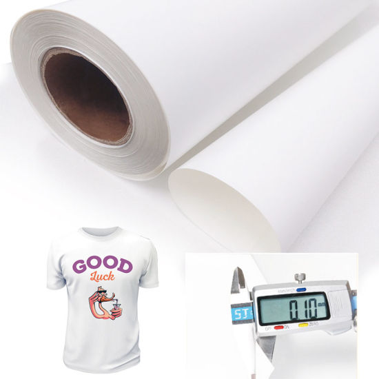 PU Heat Seal Material Eco-Solvent Printable T-Shirt Heat Transfer Vinyl for Clothing Vinil Imprimible