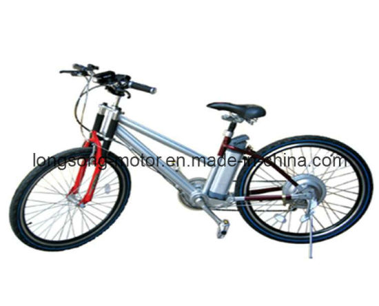 250W Aluminum Li-ion Battery Electric Bike