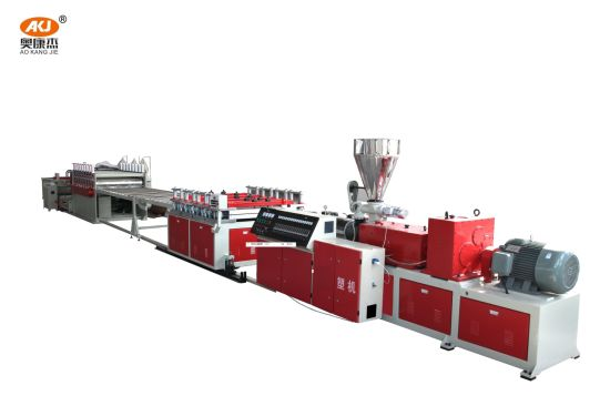 Source Factory PVC Foam Board Making Machine Plastic Extruder Machine