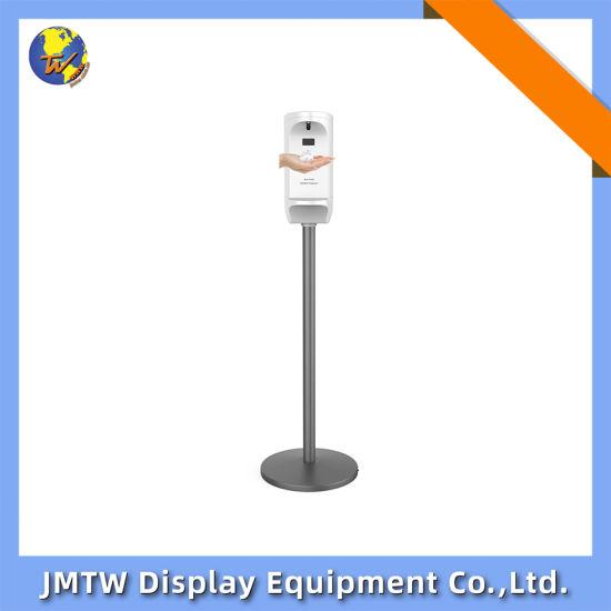 Public Floor Standing Auto Hand Dispenser Sanitizer Foaming Dispenser
