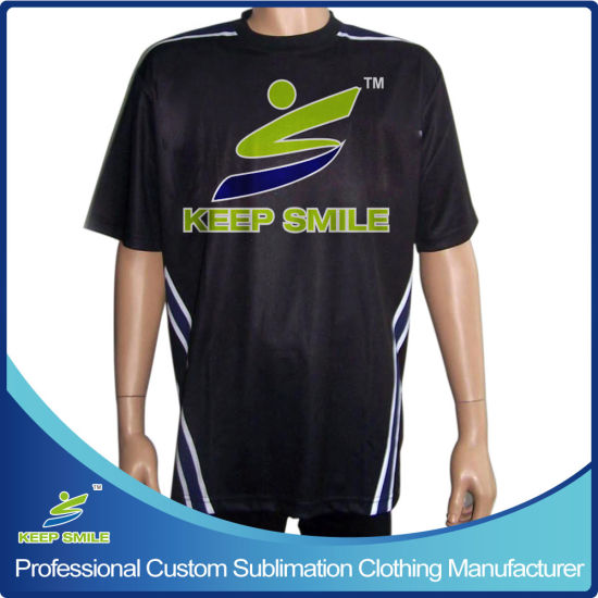 Custom Sublimation Printed Bowling T-Shirt