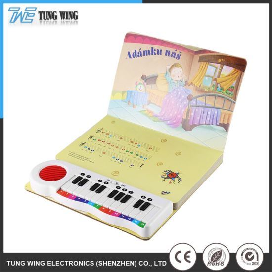 Customized Push Button Music Books with Sound Effects
