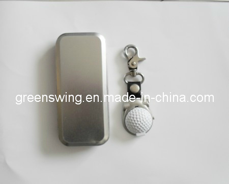2019 Metal Golf Watch with Square Iron Box Packing pictures & photos