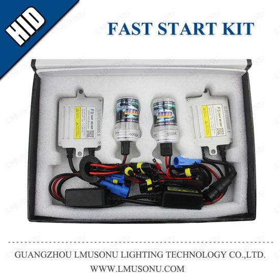 F5 Fast Bright H1 H3 H7 H11 9005 9006 HID Xenon Kits 55W