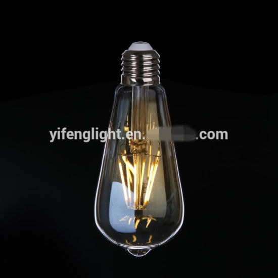Vintage Decorative Light Bulb, LED Filament Style, Dimmable