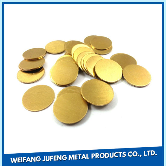 China OEM Metal Stamping Blanks with Electroplating Service