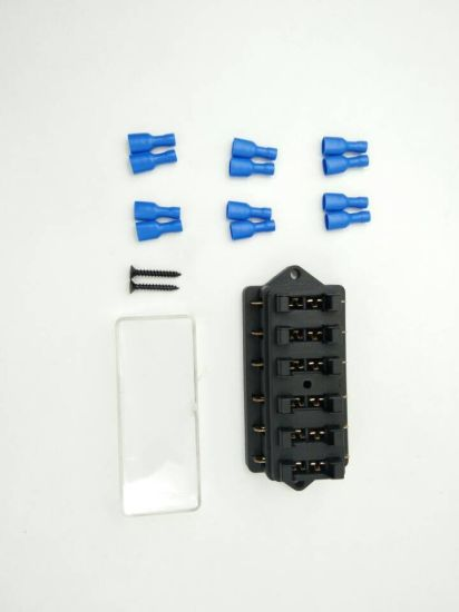 Awesome China 6 Way Car Auto Standard Blade Fuse Box Holder Block China Wiring 101 Akebretraxxcnl