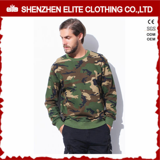 Custom Oversized Sublimation Printing Camo Sweatshirt (ELTSTJ-754) pictures & photos