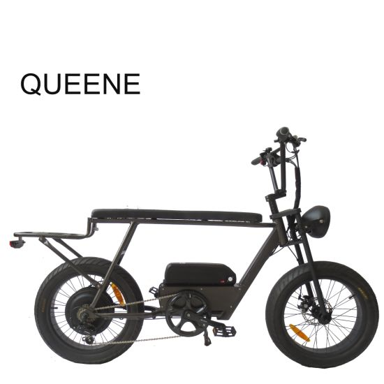 Queene/Powerful Superman Fat Tire Electric Bicycle with 500W Rear Motor and Colorful Display 73
