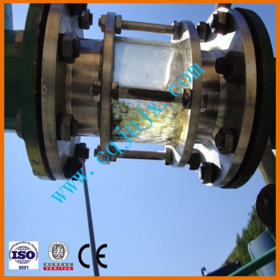 China Tyre Waste Plastic Pyrolysis Oil Refining to Diesel