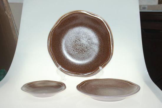 New Stoneware Dinnerware Plate Set with Nice Glaze & China New Stoneware Dinnerware Plate Set with Nice Glaze - China ...
