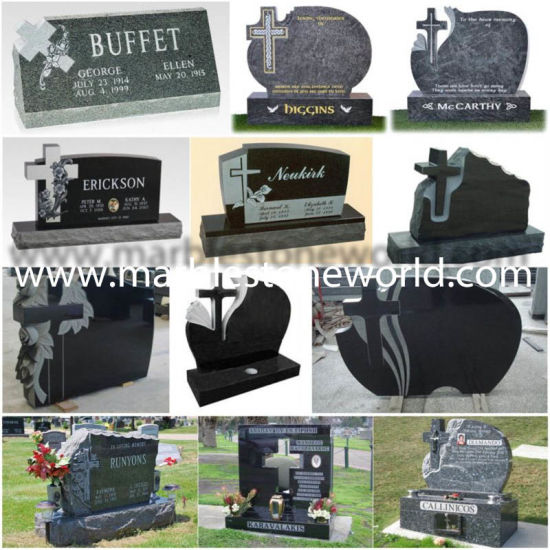 Custom Design Headstones on Sale 20 Years Tombstone Factory pictures & photos
