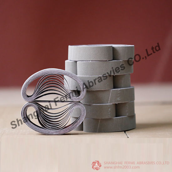 Zirconia Abrasive Sanding Belts for Metal (VSM & 3M Raw Material) pictures & photos