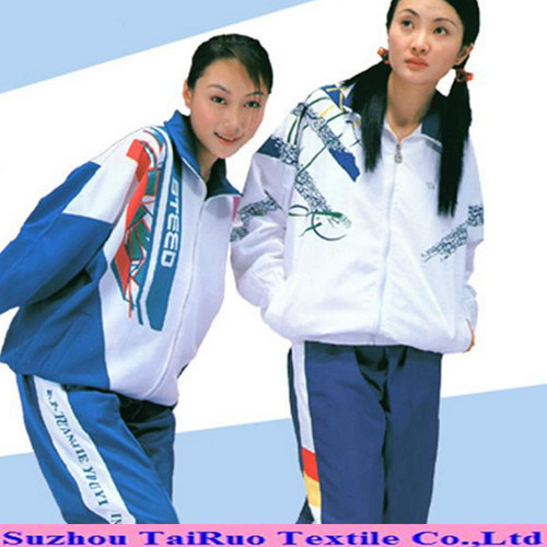 Microfiber Polyester Pongee with Printed for School Uniform
