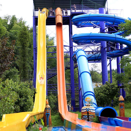 Crazy Freefall Water Slide for Adult