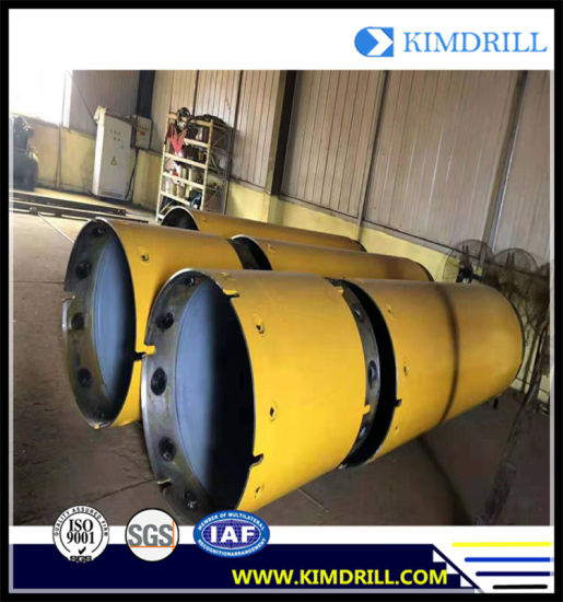 Thickness 40mm Double Wall Casing Pipe for Rotary Drill Rig