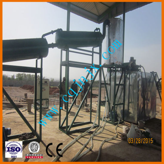 Waste Engine Oil Regeneration Equipment to Diesel Fuel