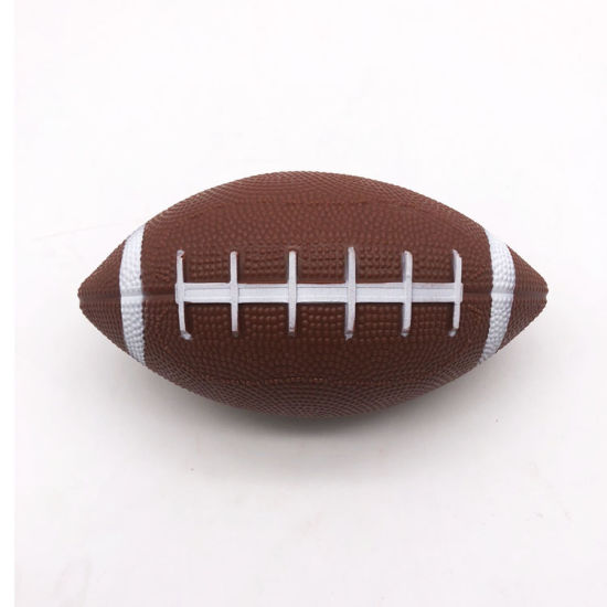 PVC Custom Printed Mini American Football Toy