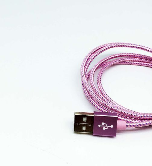 8 Pin USB Cable for Ios Mobile Phone 4FT Colorful Data Sync USB Cable pictures & photos