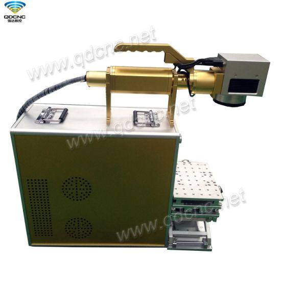 Portable Fiber Laser Marker for Metals Qd-Fx20/30/50