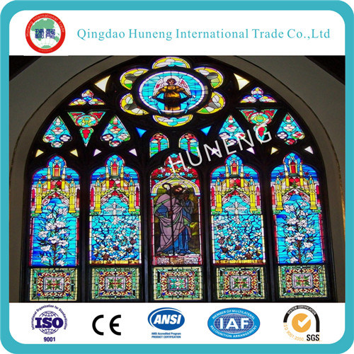 3-6mm Decorative Glass Type Stained Church Glass pictures & photos