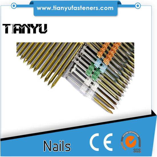 China 21 Degree 3 Inch Plastic Framing Nail - China 34 Degree, Paper ...