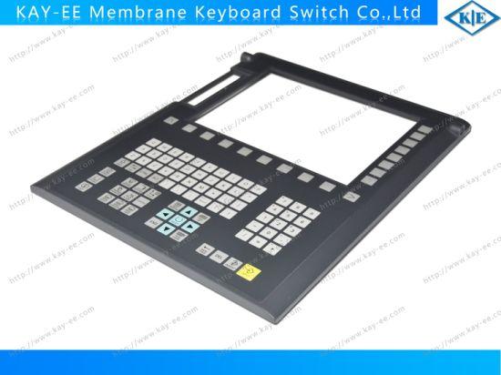 Big Transparent Window Membrane Keypad Switch with Hard Plastic Bezel