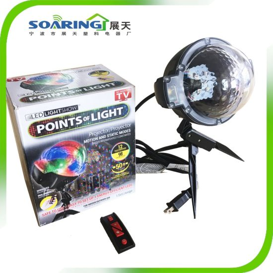 as seen as tv led projector light with remote control led stage christmas light