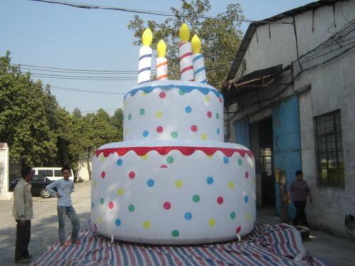 Outstanding China Inflatable Birthday Cake Giant Inflatable Cake Decoration Personalised Birthday Cards Xaembasilily Jamesorg
