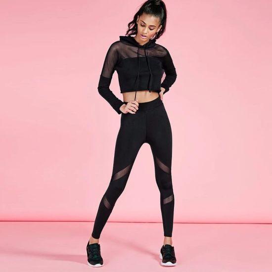Sport Suit Yoga Set Running Fitness Training Clothing for Women Sportswear