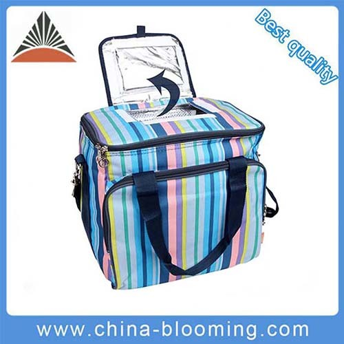 Wholesale 600d Aluminum Foil Insulated Thermal Lunch Cooler Bag