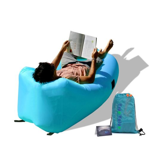 Cheap Price Fast Inflatable Easy Carry Lazy Bag Air Lounger