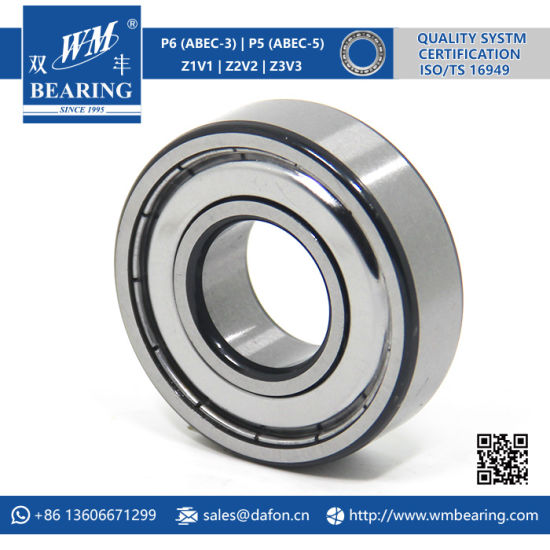 Whrilpool Washing Machine Drum Metal Shielded Bearing (6205 ZZ/-2Z) pictures & photos