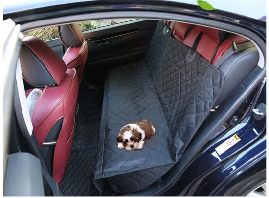 Hot Sell Luxury All Quilted Dog Car Seat Covers Pet Cover Back For
