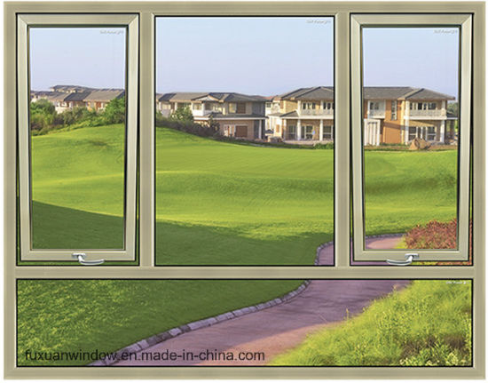 High Quality American Standard Import Aluminum Casement Window pictures & photos