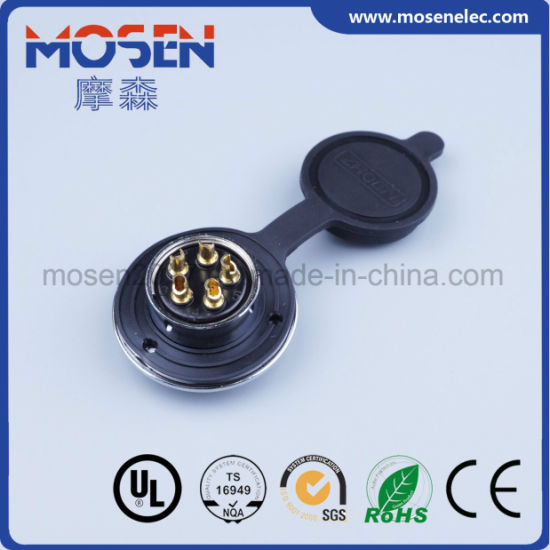 Df Type 16mm 2-12 Pin Avoation Adapater Wire Circular Connector