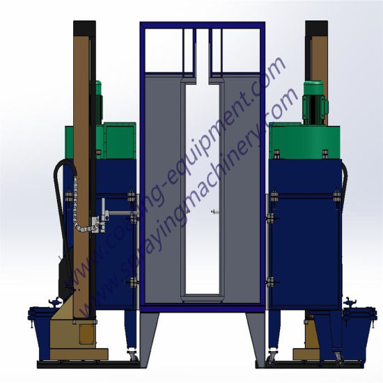 Powder Coating Line Production and Assembling Process in Factory