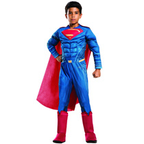 Child Superman Deluxe Muscle Chest Superhero Costume