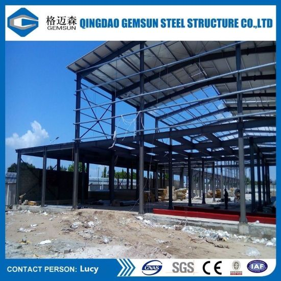 China Prefab Large Span Steel Structure for Warehouse - China Steel