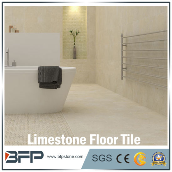 Natural Stone Flooring Bush Hammered Limestone for Outdoor Landscape pictures & photos
