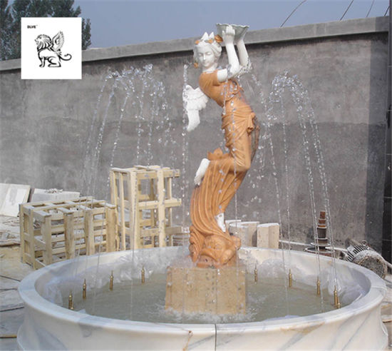 China Large Outdoor Decor Marble Lady