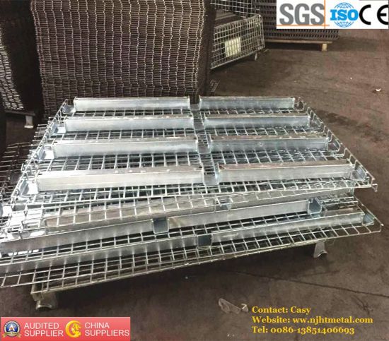 Customized Galvanized Wire Mesh Decking for Warehouse Storage Racking pictures & photos