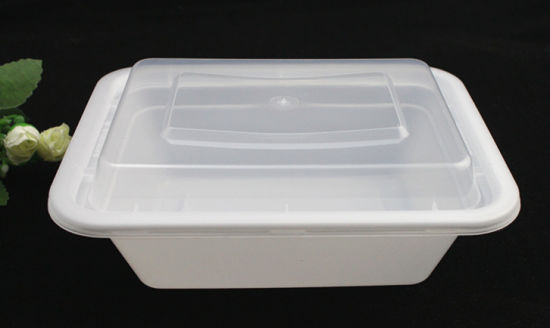 China Microwave Hot Sale Plastic Disposable Food Packaging Container
